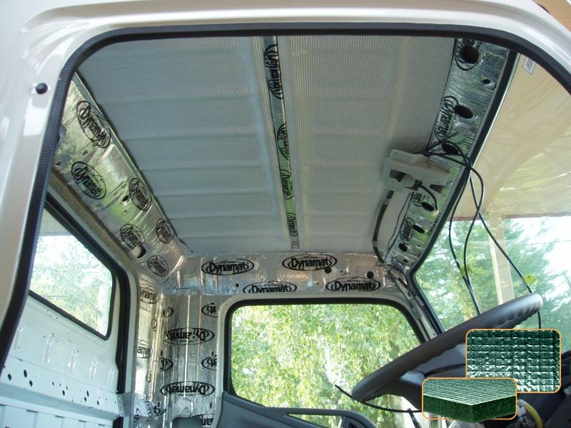 Improving the cab's insulation