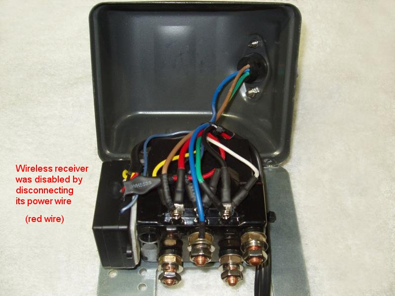 buying and installing a winch i have also connected wires
